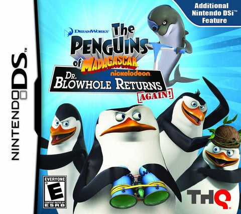 The Penguins of Madagascar: Dr. Blowhole Returns - Again! - Nintendo DS
