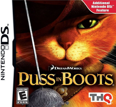 DreamWorks Puss in Boots - Nintendo DS