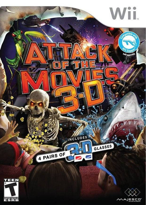 Attack of the Movies 3D - Nintendo Wii [USED]