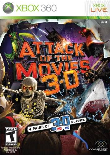 Attack of the Movies 3D - Xbox 360