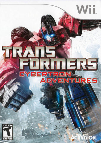Transformers: Cybertron Adventures - Nintendo Wii [USED]