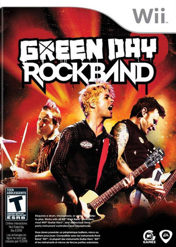 Green Day: Rock Band - Nintendo Wii [USED]