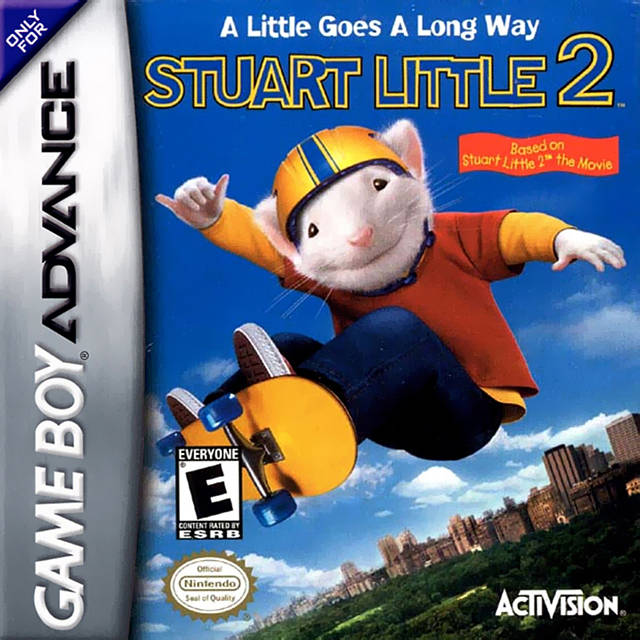 Stuart Little 2 - Game Boy Advance (Platformer, 2002, US )