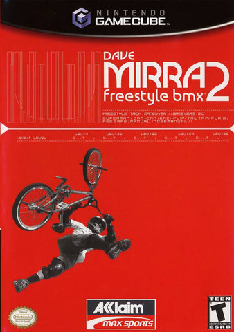 Dave Mirra Freestyle BMX 2 - GameCube [USED]