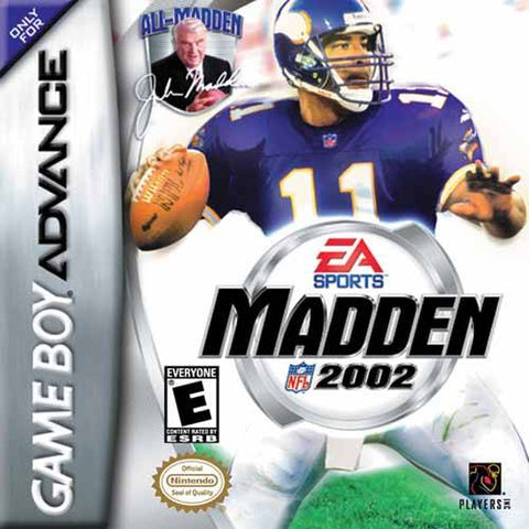 Madden NFL 2002 - Game Boy Advance [USED]
