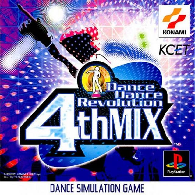 Dance Dance Revolution 4th Mix - PlayStation (Japan)