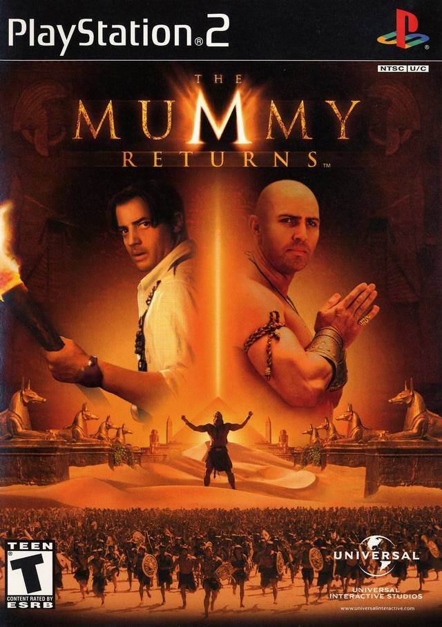 The Mummy Returns - PlayStation 2