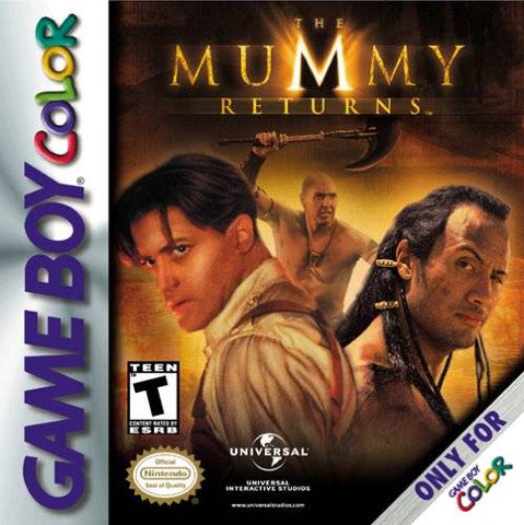 The Mummy Returns - Game Boy Color [USED]