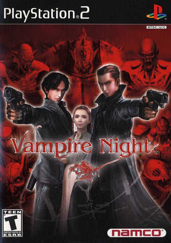 Vampire Night - PlayStation 2