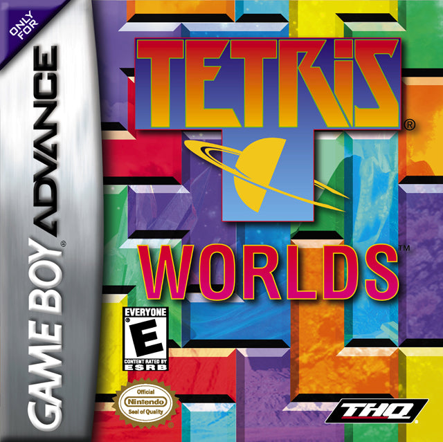 Tetris Worlds - Game Boy Advance