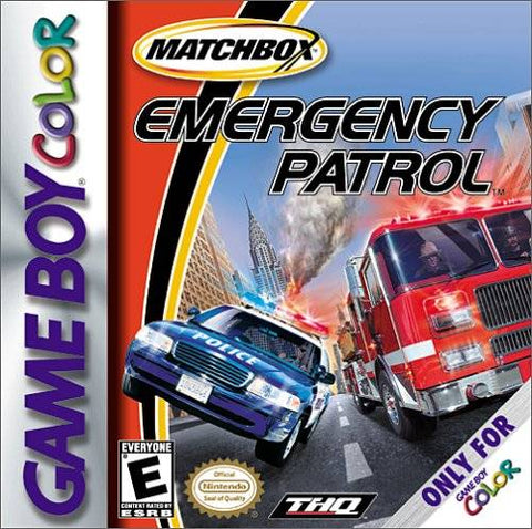 Matchbox Emergency Patrol - Game Boy Color [USED]