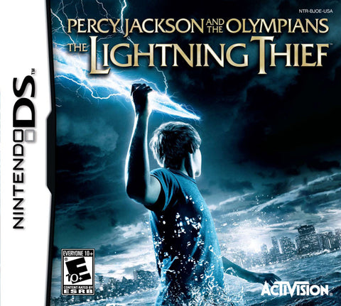 Percy Jackson and the Olympians: The Lightning Thief - Nintendo DS