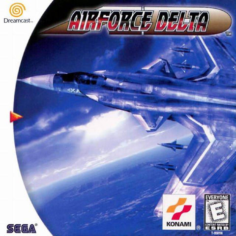 AirForce Delta - SEGA Dreamcast (FLY, 1999) [USED]