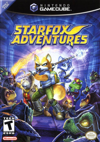 Star Fox Adventures - GameCube [USED]