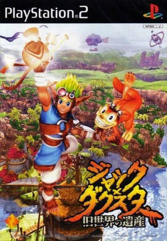 Jak and Daxter: the Precursor Legacy - PlayStation 2 (Japan)