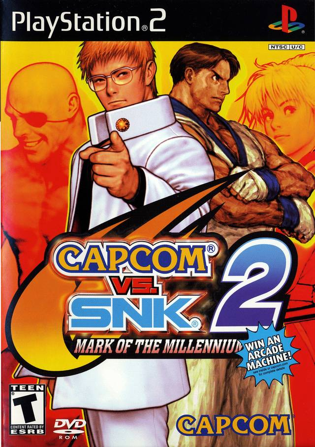 Capcom vs. SNK 2: Mark of the Millennium 2001 - PlayStation 2