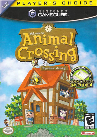 Animal Crossing ( Player's Choice ) - GameCube Pre-Owned
