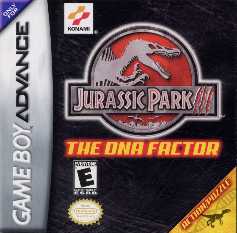 Jurassic Park III: The DNA Factor - Game Boy Advance