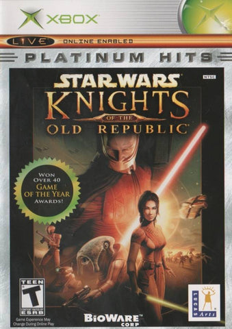 Star Wars: Knights of the Old Republic (Platinum Hits) - Xbox