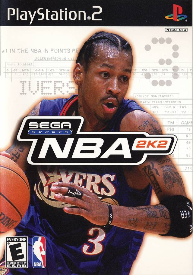 NBA 2K2 - PlayStation 2