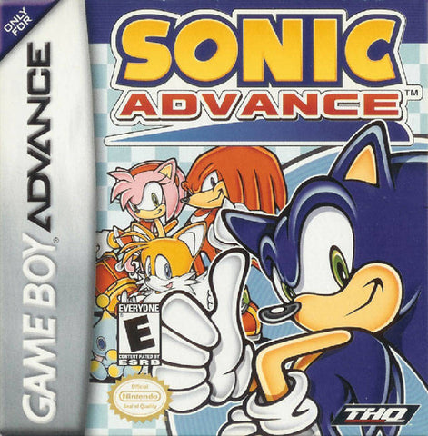 Sonic Advance - Game Boy Advance [USED]