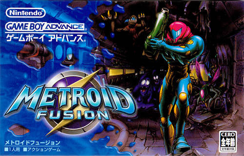 Metroid Fusion - Game Boy Advance (Japan)