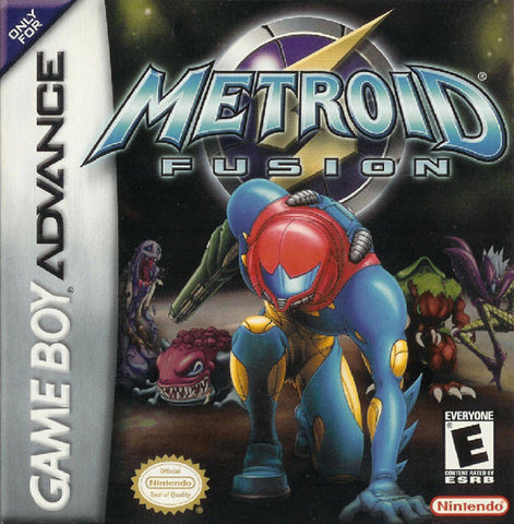 Metroid Fusion - Game Boy Advance [USED]