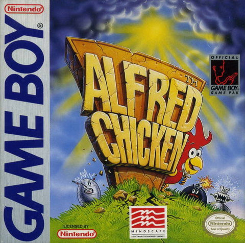 Alfred Chicken - Game Boy [USED]