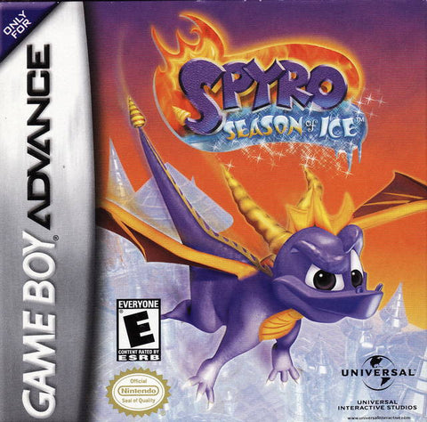 Spyro: Season of Ice - Game Boy Advance [USED]