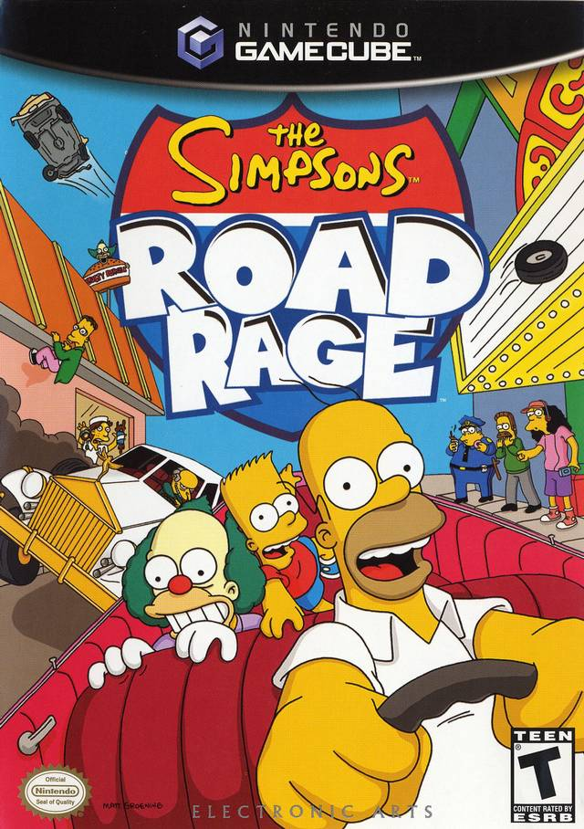 The Simpsons: Road Rage - GameCube [USED]