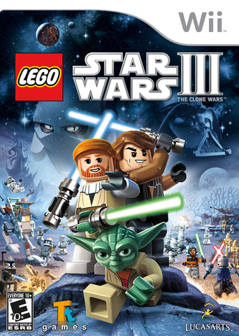 LEGO Star Wars III: The Clone Wars - Nintendo Wii [USED]