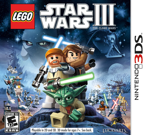 LEGO Star Wars III: The Clone Wars - Nintendo 3DS [USED]