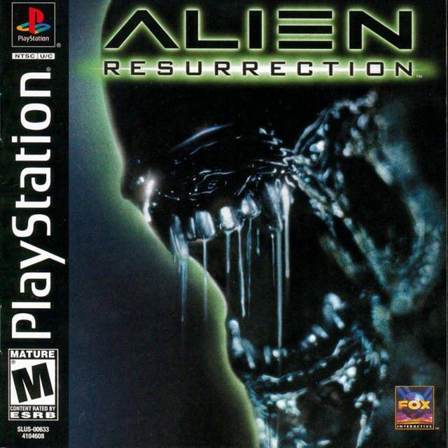 Alien Resurrection - PlayStation
