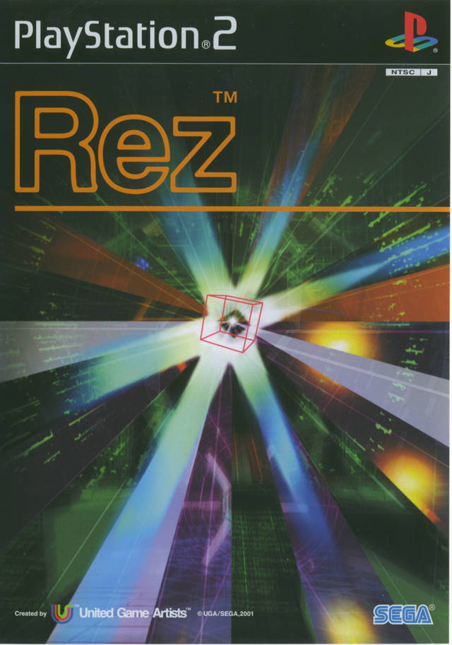 Rez - PlayStation 2 (Japan)