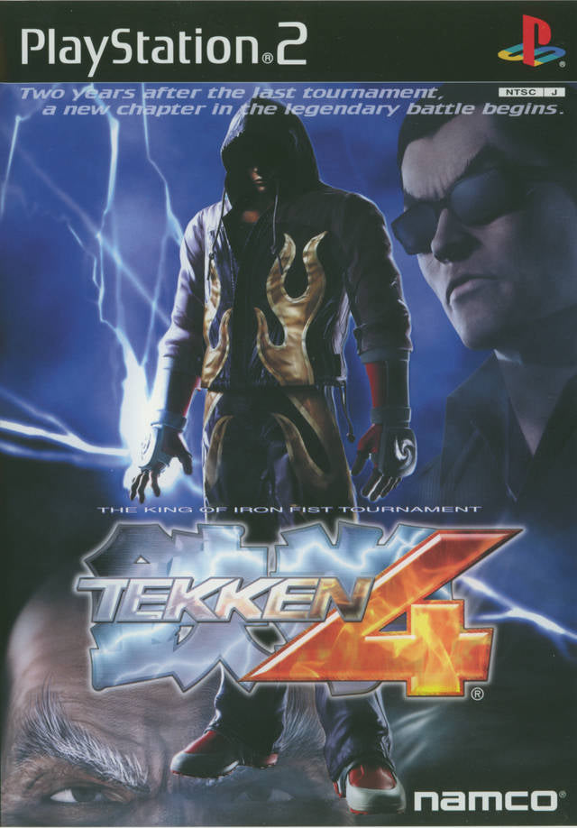 Tekken 4 - PlayStation 2 (Japan)