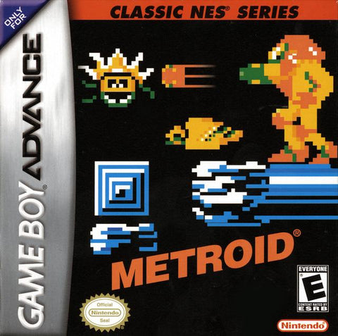 Classic NES Series: Metroid - Game Boy Advance [NEW]