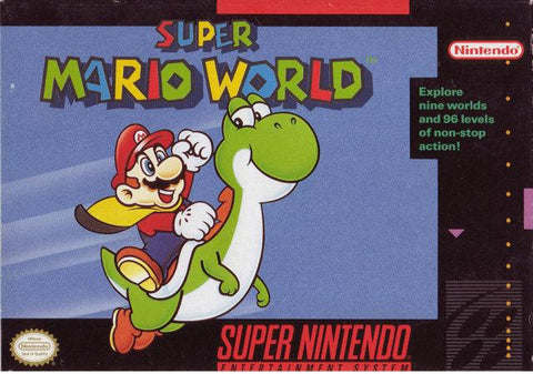 Super Mario World - Super Nintendo [USED]