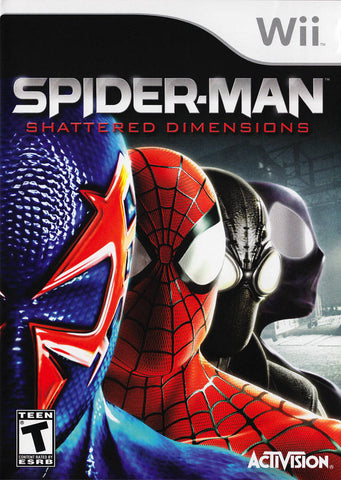 Spider-Man: Shattered Dimensions - Nintendo Wii [USED]