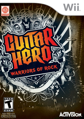 Guitar Hero: Warriors of Rock - Nintendo Wii [USED]