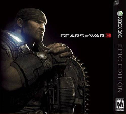 Gears of War 3 (Epic Edition) - Xbox 360