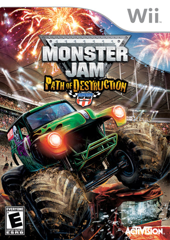 Monster Jam: Path of Destruction - Nintendo Wii [NEW]