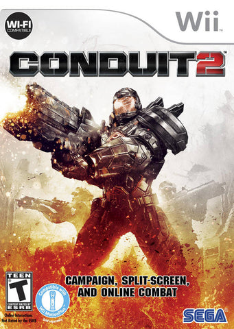 Conduit 2 - Nintendo Wii [USED]