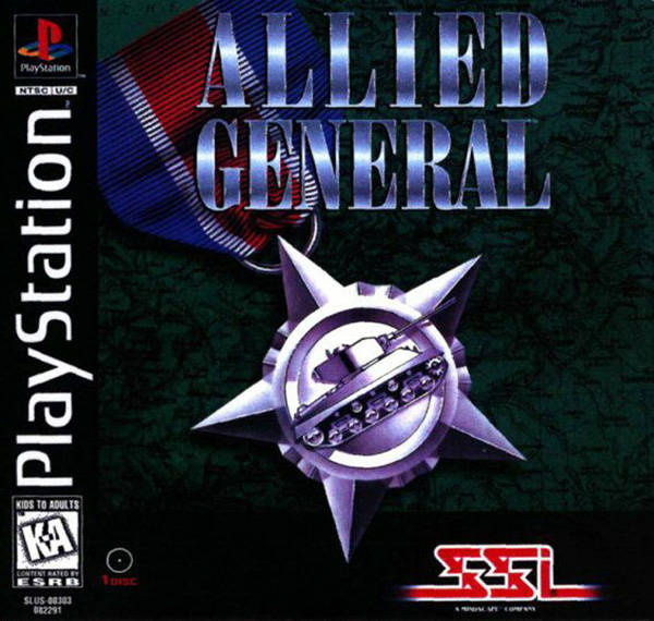 Allied General - PlayStation