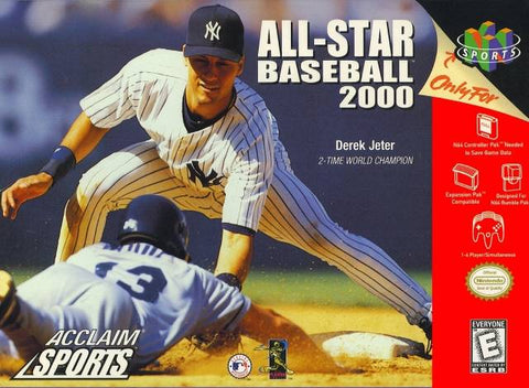 All-Star Baseball 2000 - N64 Cover Art