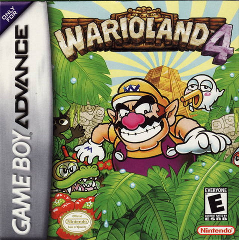 Wario Land 4 - Game Boy Advance [USED]