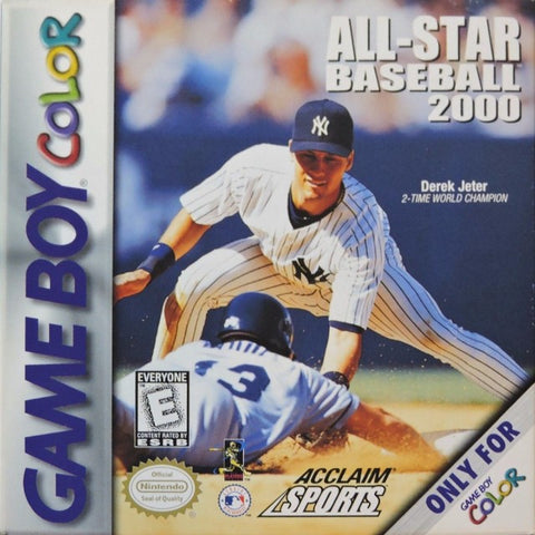 All-Star Baseball 2000 - Game Boy Color [USED]