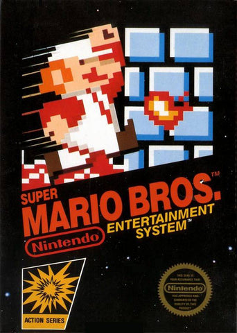 Super Mario Bros. - Nintendo NES [USED]