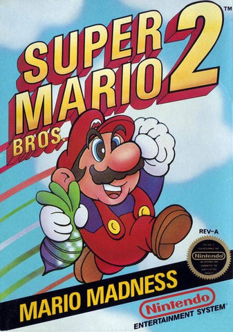 Super Mario Bros. 2 - Nintendo NES [USED]