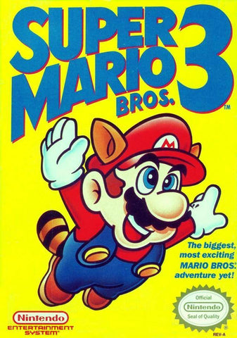 Super Mario Bros. 3 - Nintendo NES [USED]
