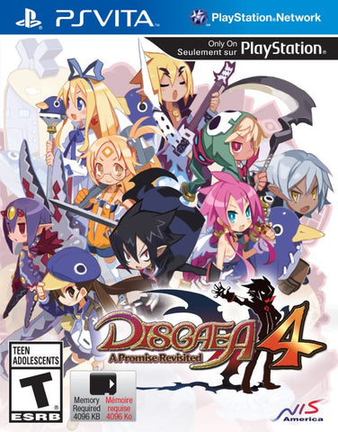 Disgaea 4: A Promise Revisited - PS Vita